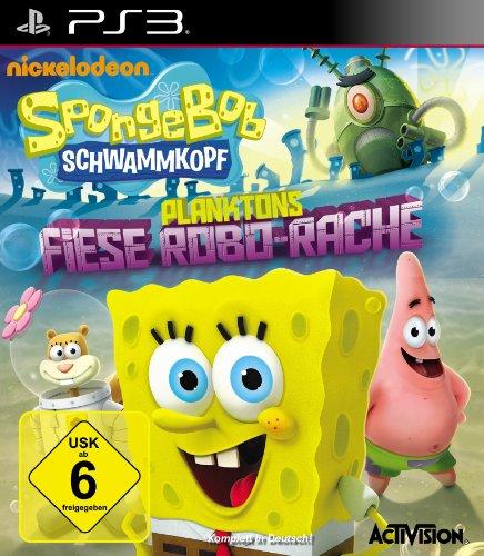 Activision SpongeBob Squarepants: Plankton's Robotic Revenge, PS3