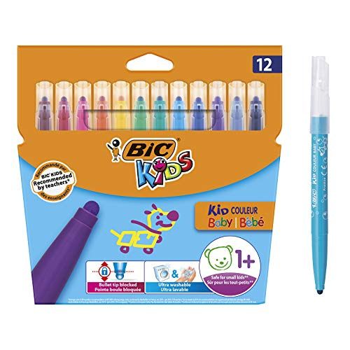 BIC Kids Kid Couleur Baby rotuladores colores Punta