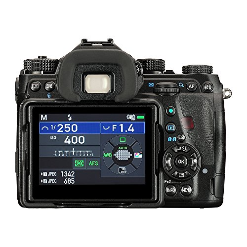 Pentax K-1 Mark II 36MP Weather Resistant DSLR with 3.2' TFT LCD, Body Only, Black