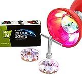MisterM  Set de Luces LED para Diábolo 2 Piezas con Llave + Video de Diábolo en Línea Gratis.