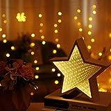 ZGNY 3D Neuheit Sternwolke Weihnachtsbaum Nachtlicht unendlichen Spiegel Tunnel Licht kreative LED Spiegel Licht Kind Baby Spielzeug Geschenk