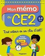 Mon Memo du CE2 8 9 Ans de Morgane Céard