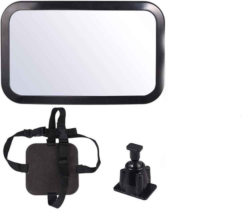 Baby Car Mirror Acrylic Seattle Mall Plastic 360 degrees fragile Not Material Gifts