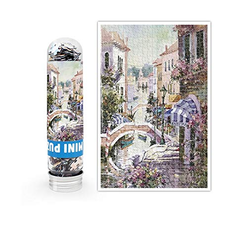 Mini Puzzle Prueba tubo bolsillo paisaje