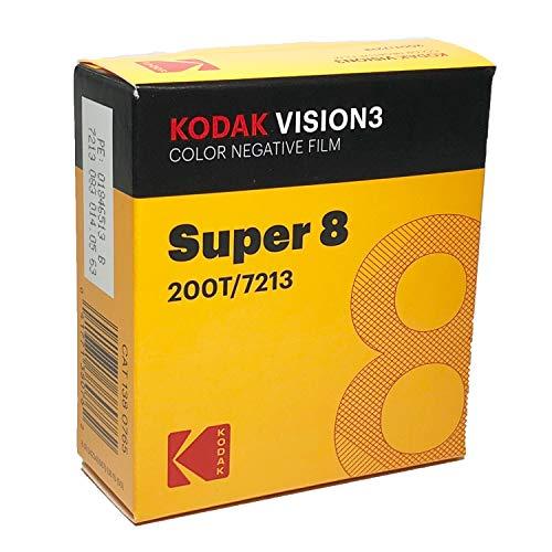 Kodak Vision3 8 mm Super Color Negative Film 200T 7213