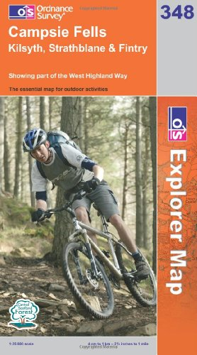 OS Explorer map 348 : Campsie Fells