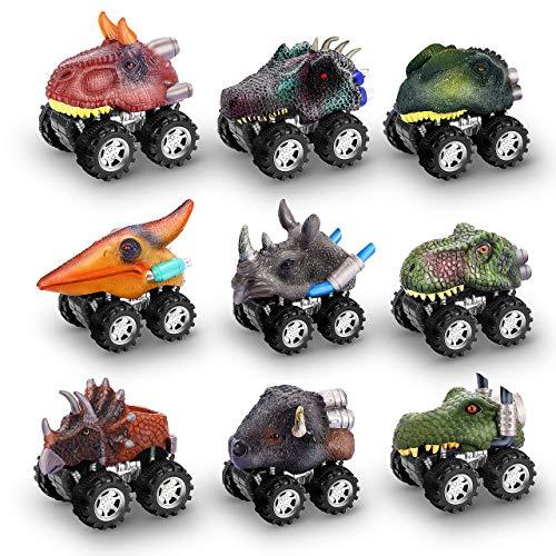 dmazing Spielzeug für 3-8 Jahre Jungen, Dinosaurier Spielzeug 3-8 Jährige Jungen Spielzeug Spielzeug ab 3-8 Jahren für Jungen Geschenke für Jungen 3-8 Jahre Interessantes Geschenk für Kinder 9 Packung