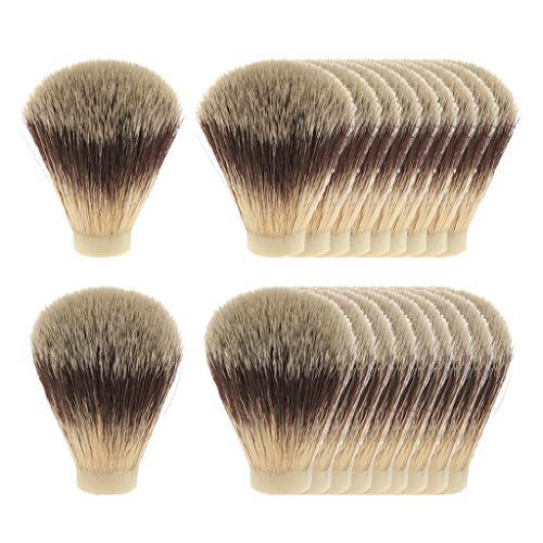 Sharplace 20x Barber Classic Barba Depilación Afeitado Nudo de Cepillo para Cortar La Limpieza Del Polvo