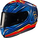 HJC R-PHA-11 Helmet, Unisex-Adult, Blue/Red, S