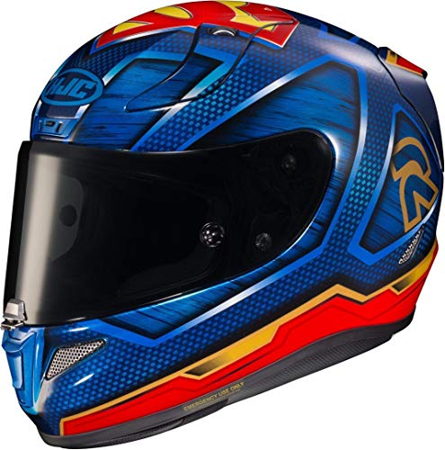 HJC RPHA 11 Superman DC Comics MC21 rot blau Motorradhelm Integralhelm Racing, XL
