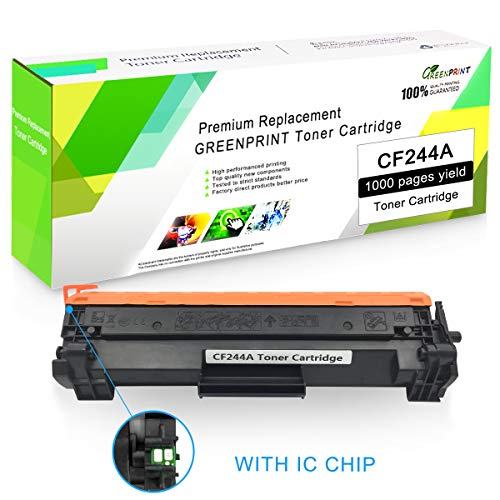 Compatibele tonercartridge CF244A 44A zwart met chip GREENPRINT 1000 pagina's voor gebruik met HP Laserjet Pro kleurenlaserprinter Pro HP Pro M14 M15a M15w M17 MFP M28a MFP M28w printer
