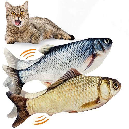 WONDAY Cat Kicker Fish Toy