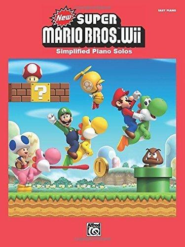 New Super Mario Bros. Wii: Intermediate / Advanced?Piano Solos by Kondo, Koji, Fujii, Shiho, Nagamatsu, Ryo, Nagata, Kenta (2013) Sheet music