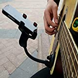 JIAYOUNG Phone Holder Stand for Guitar Street Singing lyrics Song Car Sucker Cups Support Holder Musicians Guitar Stand