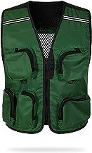 Opvallende Reflecterend Vest, Mesh-ontwerp, Comfortabel En Ademend, Multifunctionele Zakveiligheidskleding, Draagbare, Uni...