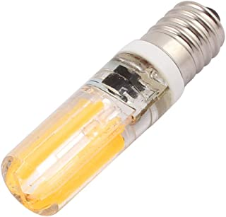 Aexit AC (Lighting fixtures and controls) 220V 5W COB LED Corn Light Bulb Silicone Lamp Dimmable E14 (50ry782qf387) Warm W...