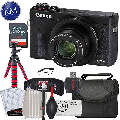 Canon PowerShot G7 X Mark III Digital Camera and Striker Essential Bundle