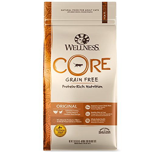 Wellness Core Grain-Free Original Formula Dry Cat Food, 2 Pound Bag