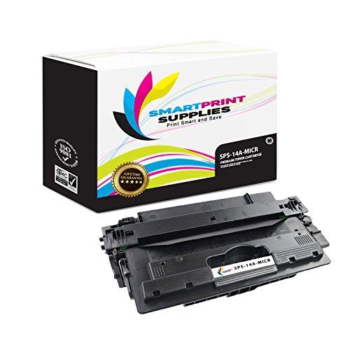 Smart Print Supplies Compatible 14A CF214A MICR Black Toner Cartridge Replacement for HP Laserjet Enterprise 700 M712 M725 Printers (10,000 Pages)
