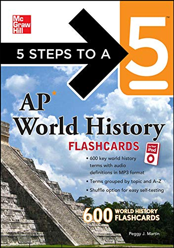 5 Steps to a 5 AP World History Flashcards for your iPod with MP3 Disk (5 Steps to a 5 on the Advanced Placement Examina