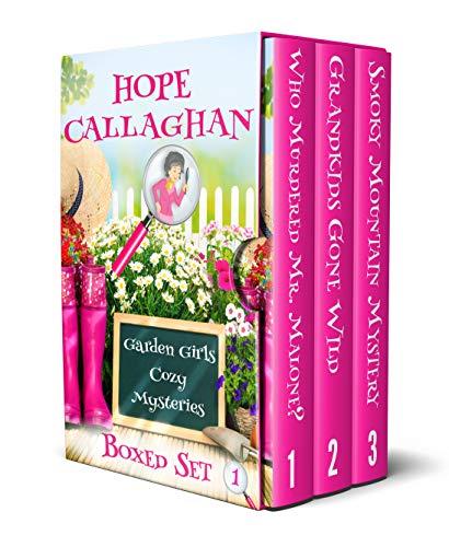 Garden Girls Cozy Mysteries Series: Cozy Mystery Box Set I (Books 1-3) (Garden Girls Cozy Mysteries Boxed Set series Book 1)