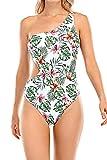 Voqeen Bikini Mujer Ropa con Estampado de Push-Up Traje de baño con Lazo Acolchado Conjunto de Bikini de Playa Acolchado Bañador Ropa Verano (1-Floral, XXL)