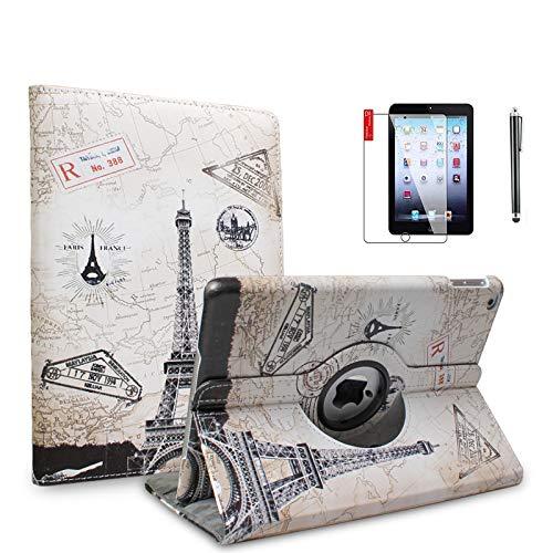 NEWQIANG A1599 A1600 - Funda para iPad Mini 3/2/1 (incluye protector de visualización y lápiz capacitivo)