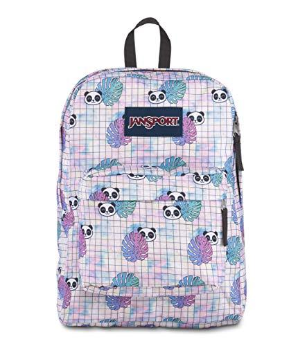 JANSPORT Superbreak 25 Ltrs Hide and Seek Panda Printed Backpack