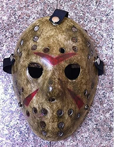 1 unids/Lote Black Friday NO.13 Jason Mask Voorhees Freddy Hockey Festival Party Halloween Masquerade (tamaño Adulto) máscaras 100 Gramos - 100 g Type2