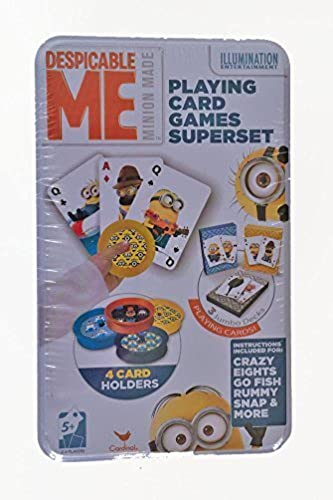 Despicable Me Playing Card Games Superset by Cardinal Games