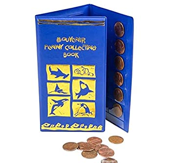 Rhode Island Novelty Aquatic Souvenir Penny Holder Book One Per Order