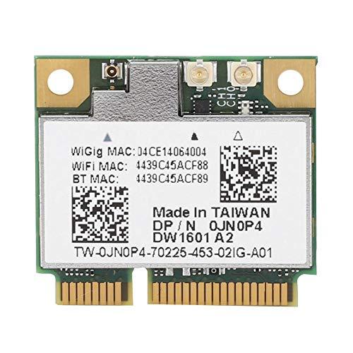 Bluetooth 4.0 Wigig 802.11AD7GbpsワイヤレスネットワークカードデュアルバンドMINIPCIEワイヤレスネットワークアダプター(6430u E5440 E7440用)