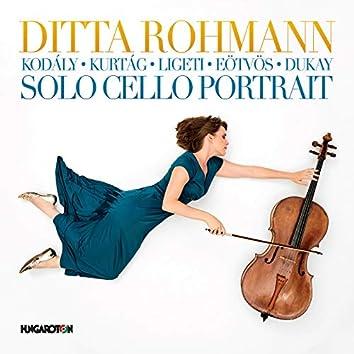 Solo Cello Portrait