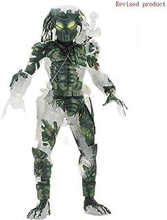 XXSDDM-WJ Muñeca Depredador - Figura de Escala de acción 7 30 ° Aniversario - Figura de acción Jungle Demon0110