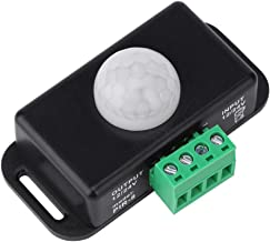 5A con Enchufe para Tira De LED Cuerpo Humano Interruptor De Sensor De Movimiento PIR Infrarrojo siwetg DC 5-24V