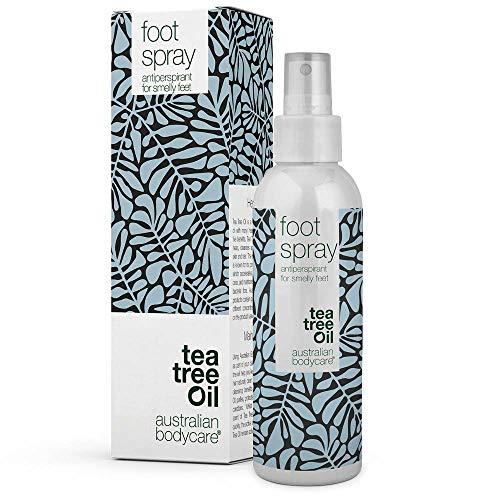 Australian Bodycare Foot Spray 150ml | Fußdeo bei Schweißfüßen | Antitranspirant für Füße | Fußspray mit Teebaumöl | Schuhspray | Auch zur therapiebegleitenden Pflege von Fußpilz