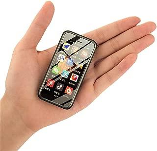 """迷你智能手机 iLight X,世界上*小的 XS 安卓手机 4G LTE,超小型微高清 3"""" 触摸屏。 全球未锁定,非常适合儿童使用。 2GB RAM / 16GB ROM。 Tiny iPhone X Look Alike 覆盖 多种颜色"""