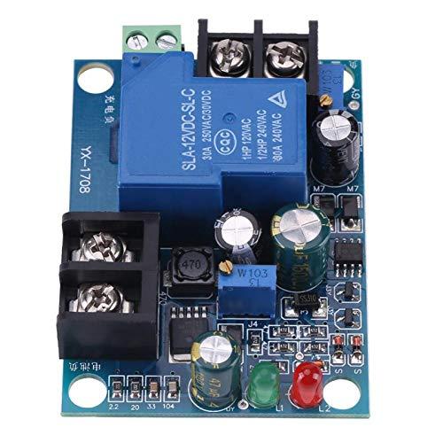 30A 12V 24V 36V 48V Cargador de Batería Automático, Módulo de Protección de Carga de Batería, Tablero de Control de Carga de Batería(24V)