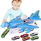 ZHANGL Niños avión de juguete construir y jugar ladrillos de juguete for niños real modelo de avión de pasaje de gran tamaño Avión de juguete de la pista inercia muchacho de los niños Mi Aeropuerto de