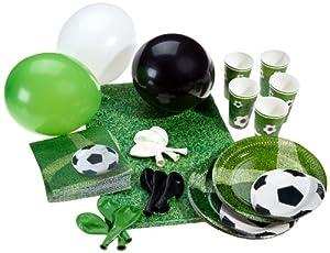 Karaloon P10001 – Partyset Fußball, Größe XL, 53-teilig