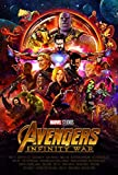 Tainsi Comic Infinity War Characters - Póster, varios colores, 42 x 30 cm