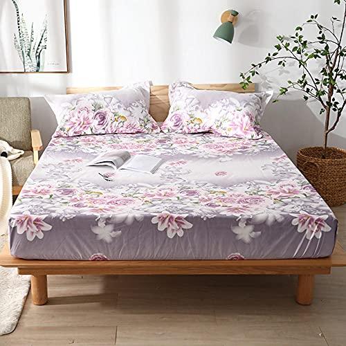 CYYyang colchón Acolchado, antialérgico antiácaros, Sábana Impermeable de un Solo Producto hotel-22_120cm × 200cm