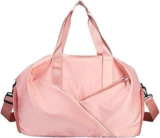 Gym sportväska vattentät resväska med våtväska och skofack över helgens väska för män och kvinnor