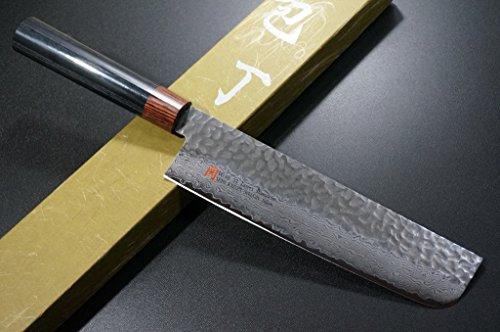 SETO Japanisches Usuba Küchenmesser 180mm Damaszener VG-10 Stahl I-6