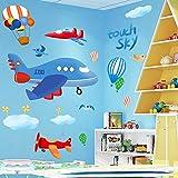 Zoom IMG-2 cartoon moon boy wall sticker