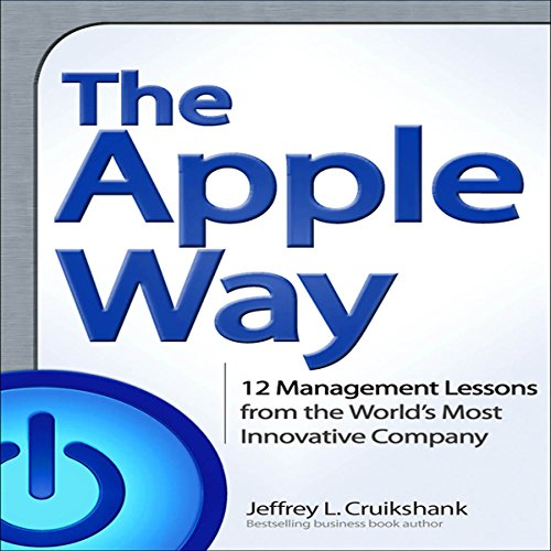 The Apple Way audiobook cover art