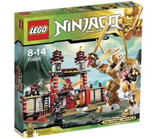 LEGO Ninjago - Playthemes - Tempel des sichtbaren Lichts - 70505
