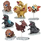 7 pcs Chic Nice Godzilla Movie King of the Monster Cute Action Figures Set Party Toys Gift Display Accent Kids Children