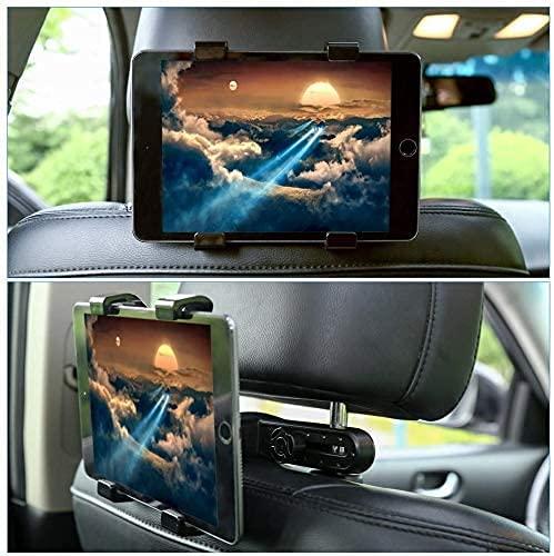 JSG Supporto per tablet auto, supporto per tablet, supporto per poggiatesta da auto per 6-11  pollici 360° supporto per tablet per iPad Samsung Galaxy Tab iPhone Huawei altri tablet
