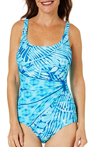 Roxanne E83434, Bra Sized Draped Sash One Piece Swimsuit